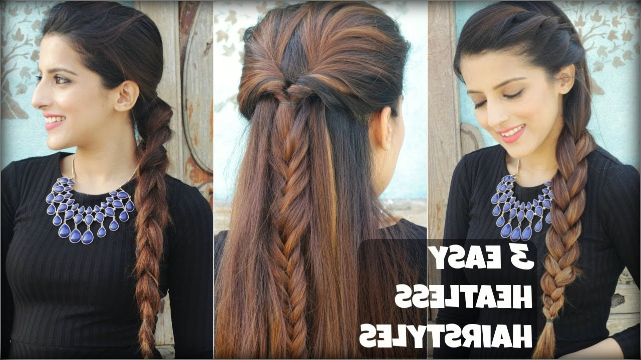 3 Quick & Easy Everyday Braided Hairstyles For Medium To Long Hair In Newest Quick Braided Hairstyles For Medium Hair (View 4 of 15)