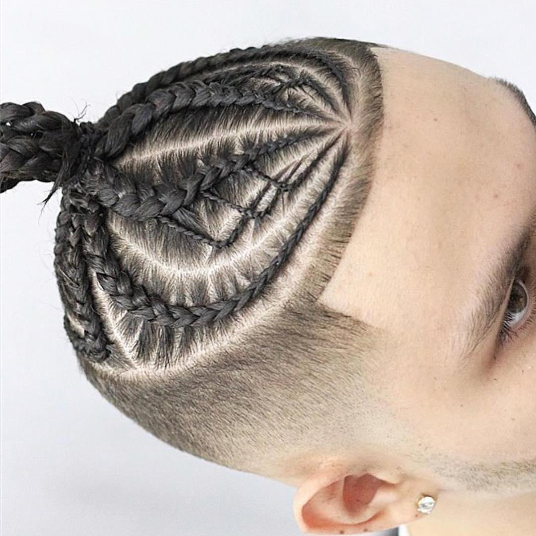 30 Dazzling Braided Bun For Men Men Braid Hairstyles Intended For Newest Braided Hairstyles For Man Bun (View 15 of 15)