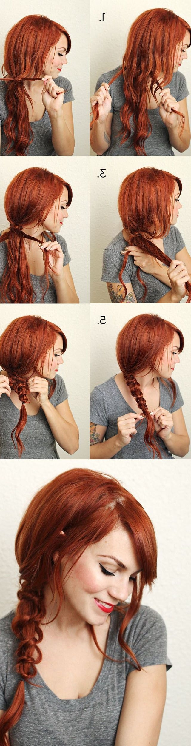 30 Messy Braid Hairstyles That You Will Love – Page 6 Of 30 – Hairsilver Pertaining To Most Recent Messy Braid Hairstyles (View 11 of 15)