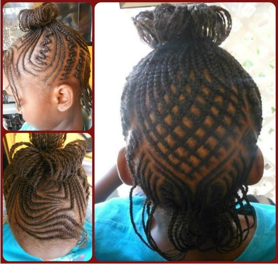 45+ Fun & Funky Braided Hairstyles For Kids – Hairstylecamp Pertaining To Widely Used Braided Lines Hairstyles (View 2 of 15)