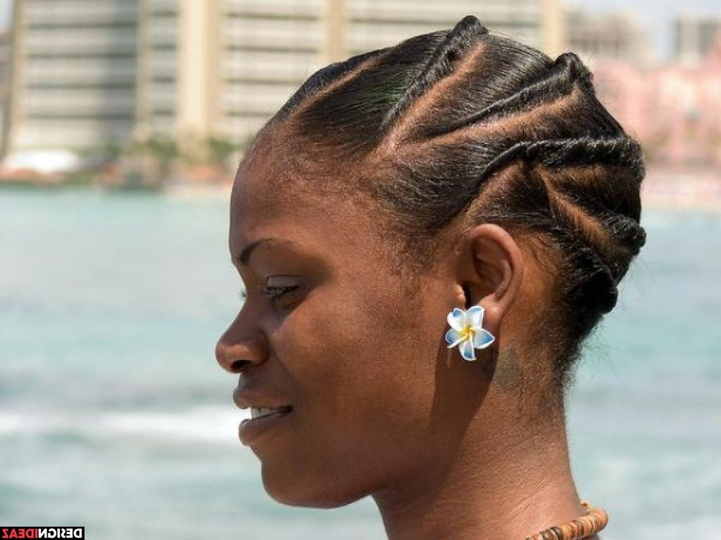 5 Creative Natural Braided Hairstyles For Black Women With Regard To Well Liked Braided Hairstyles With Real Hair (View 2 of 15)