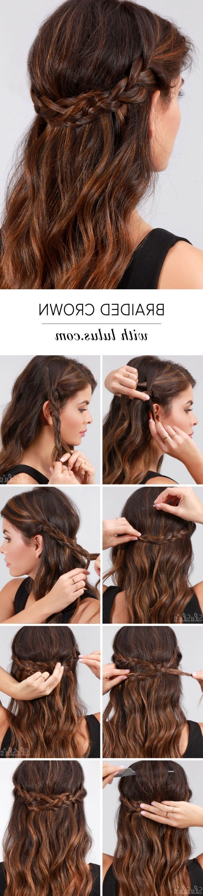 8 Easy Braids That Will Fix Any Bad Hair Day (Gallery 6 of 15)