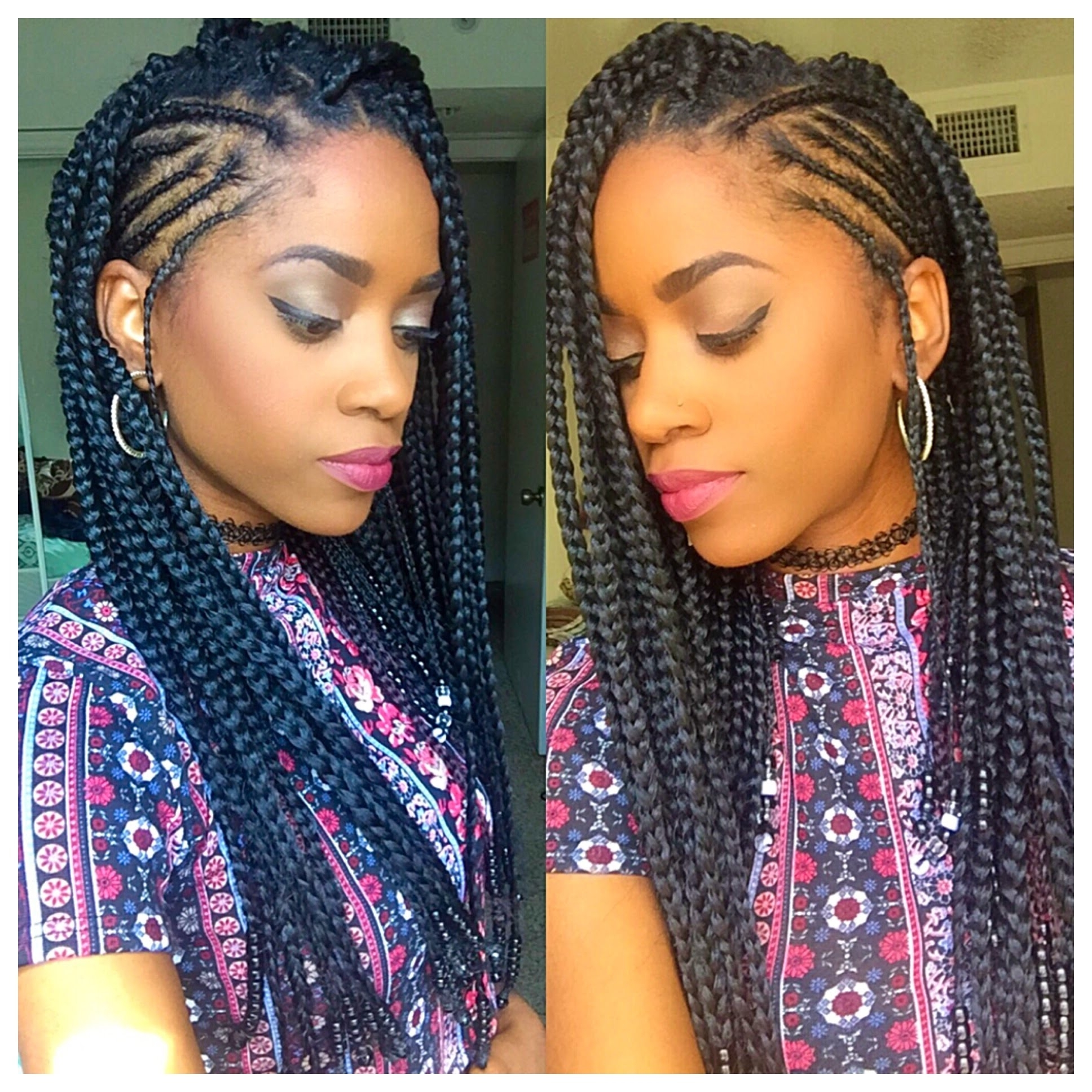 Alicia Keys Inspired Braids – Youtube Inside Well Liked Alicia Keys Braided Hairstyles (View 2 of 15)