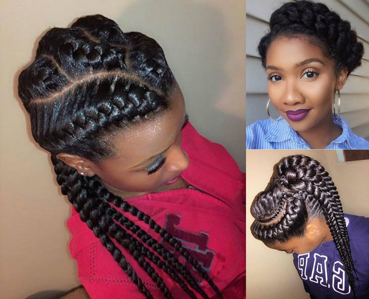 Amazing African Goddess Braids Hairstyles (View 10 of 15)