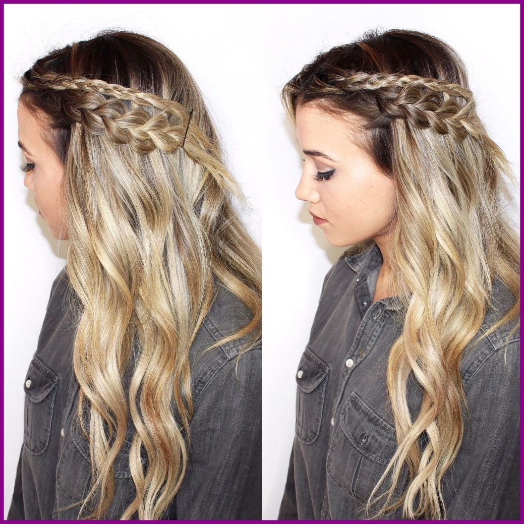 Amazing The Secret Behind Those Perfectly Messy Braids Desiree For Most Popular Messy Braid Hairstyles (Gallery 3 of 15)
