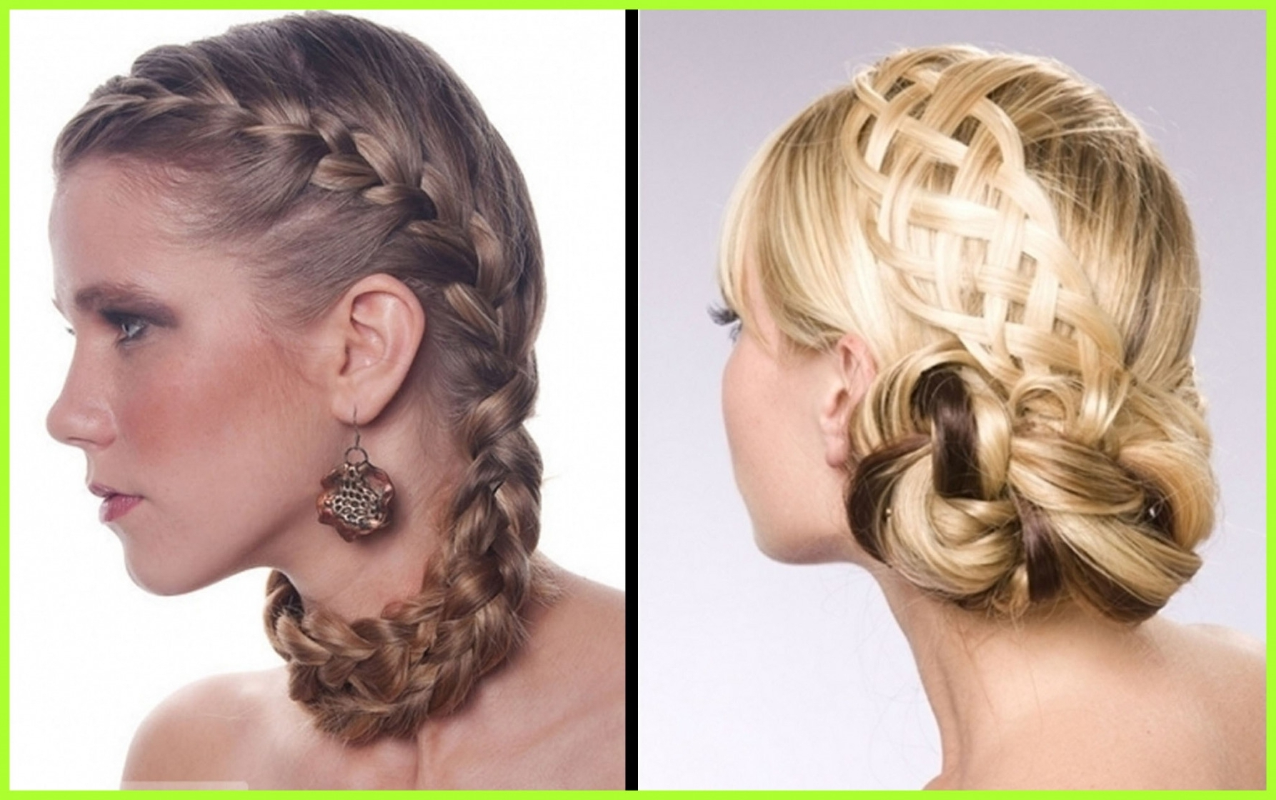 Awesome Braided Updo Hairstyles Hair Salon Formal For Women Medium With Regard To Most Recent Braided Updo Hairstyles For Medium Hair (View 4 of 15)