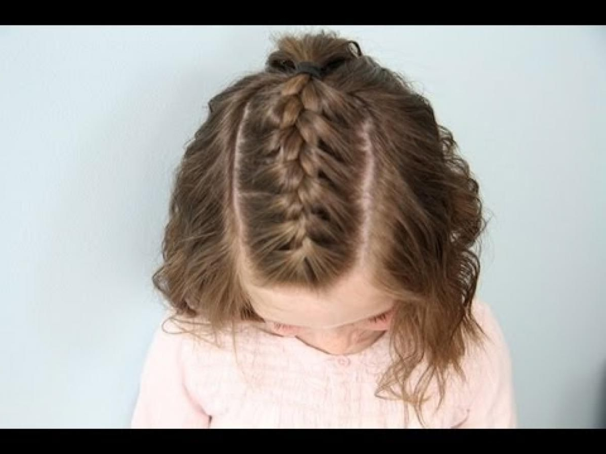 Back Post Simple Cute Braided Hairstyles For Short Hair (View 5 of 15)