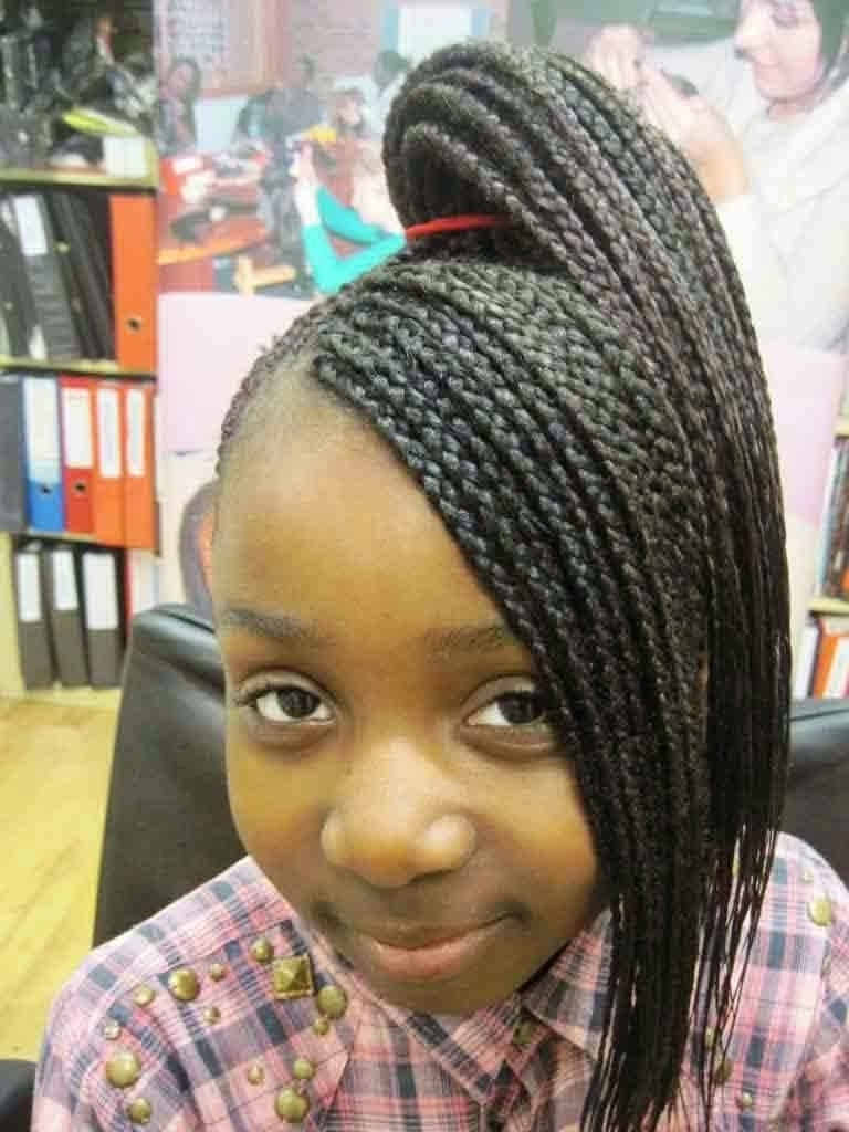 Best And Newest Black Girl Braided Hairstyles Within 64 Cool Braided Hairstyles For Little Black Girls – Hairstyles (View 7 of 15)