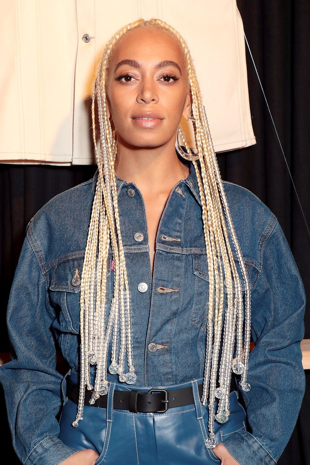 Best And Newest Blonde Braided Hairstyles Intended For The Coolest Celebrity Plaits & Braided Hairstyles (View 1 of 15)