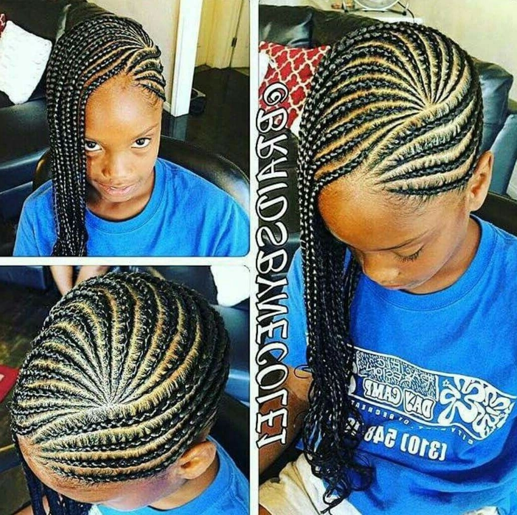 Featured Photo of Braided Hairstyles For Young Ladies