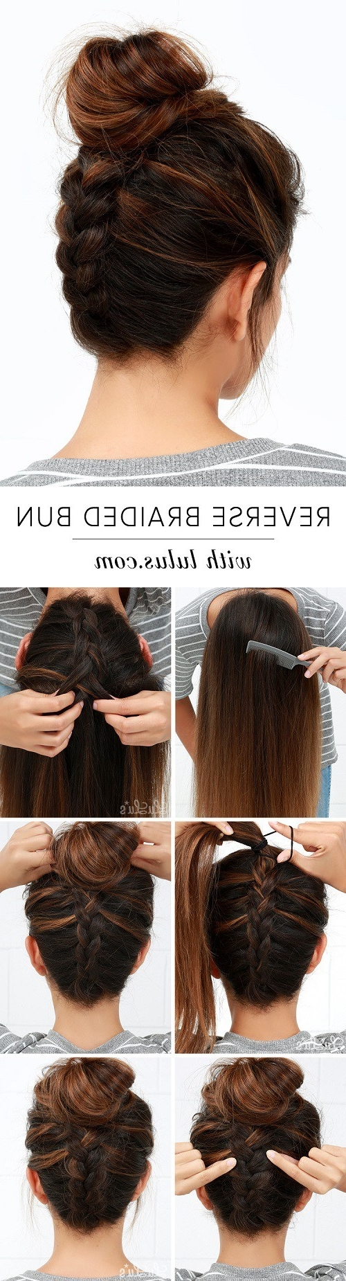 Best And Newest Quick Braided Hairstyles For Medium Length Hair With Regard To 20 Easy Elegant Step By Step Hair Tutorials For Long & Medium Hair (View 5 of 15)