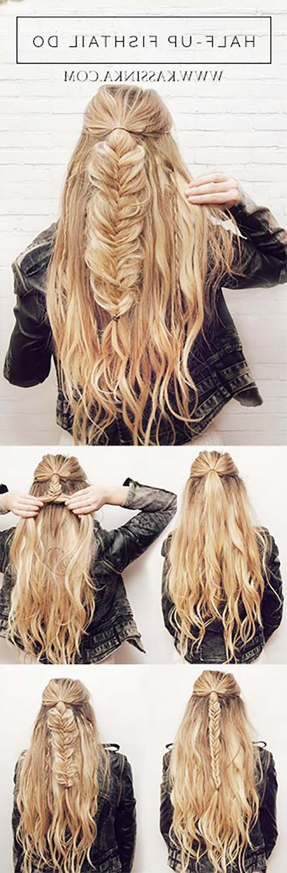 Best And Newest Up Braided Hairstyles Pertaining To 40 Braided Hairstyles For Long Hair (View 3 of 15)