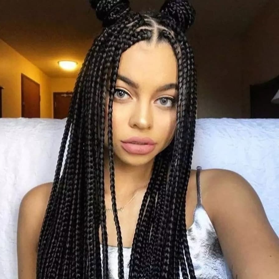 Best Box Braids Hairstyles In Ghana 2018 ▷ Yen (View 10 of 15)