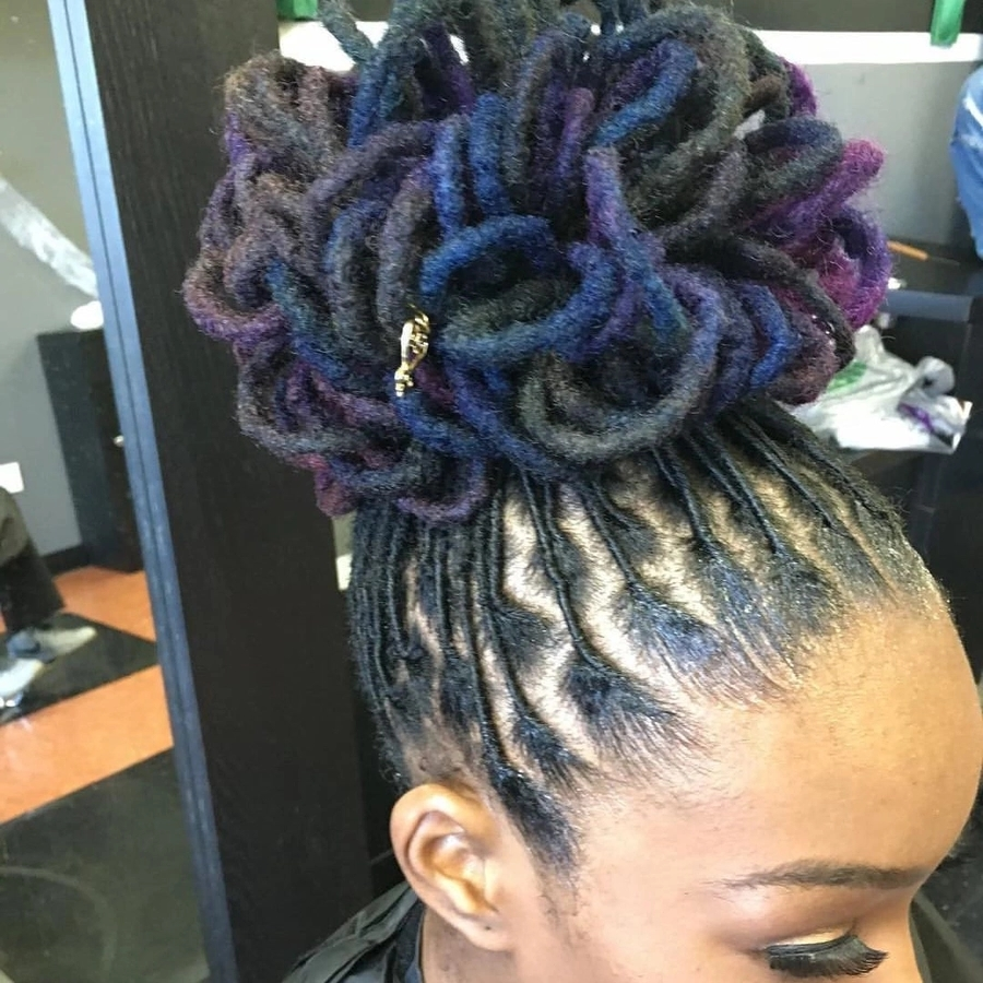 Best Dreadlock Hairstyles For Women 2018(with Pictures) For Popular Dreadlocks Hairstyles For Women (View 10 of 15)