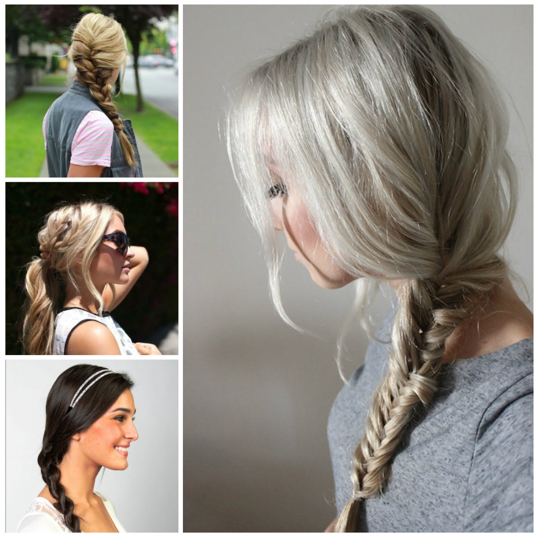 Best Hairstyles And Haircuts For Women Inside Trendy Casual Braided Hairstyles (View 3 of 15)