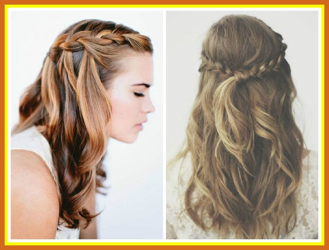 Best Half Up Down Braided Hairstyles To Inspire You How Remodel Pics Intended For Most Popular Half Up Braided Hairstyles (View 9 of 15)
