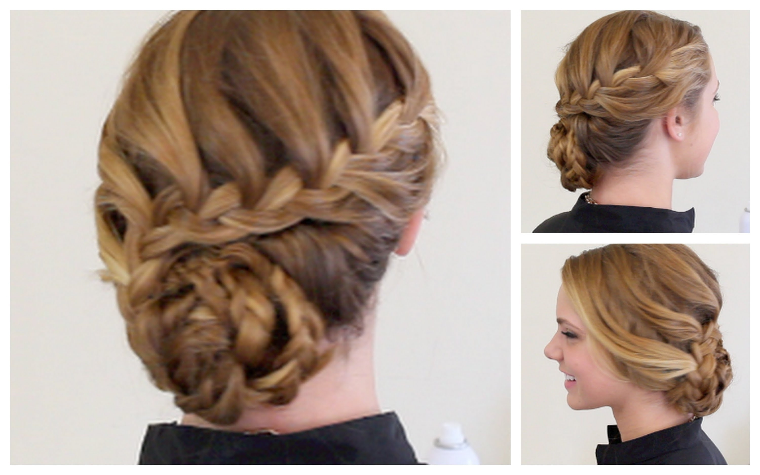 Best Ideas Of Updo Hairstyles With Braids Creative Braided Regarding Favorite Updo Braided Hairstyles (View 3 of 15)