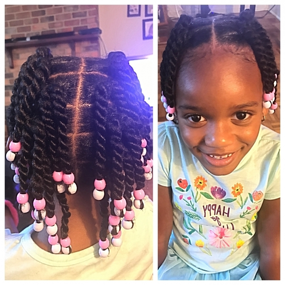 Black Toddler Braided Hairstyles 42Lions In The Lovely Black Toddler For Well Known Toddlers Braided Hairstyles (View 5 of 15)