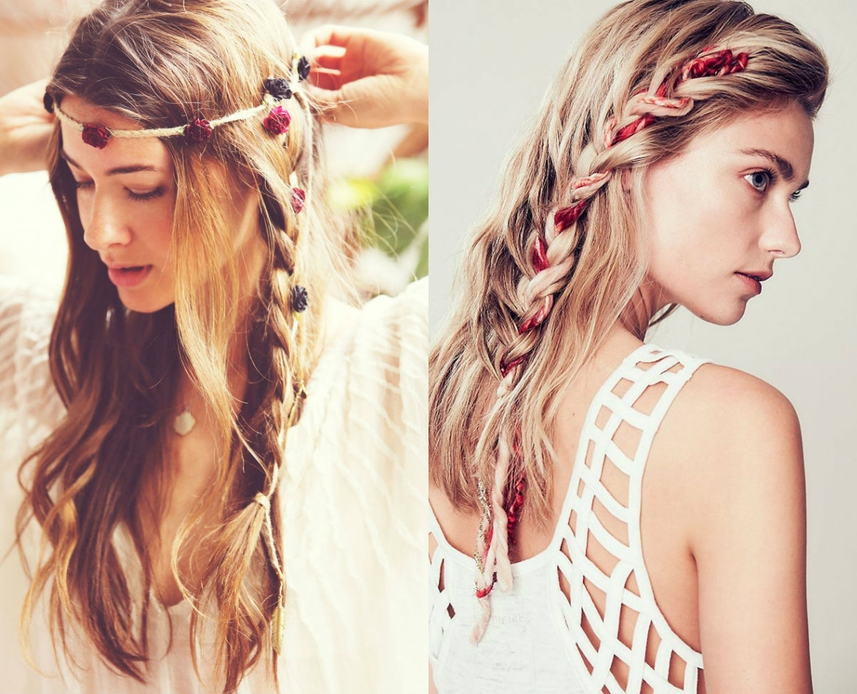 Boho Braids Hairstyles 2017 To Get Boho Chic Look (View 5 of 15)