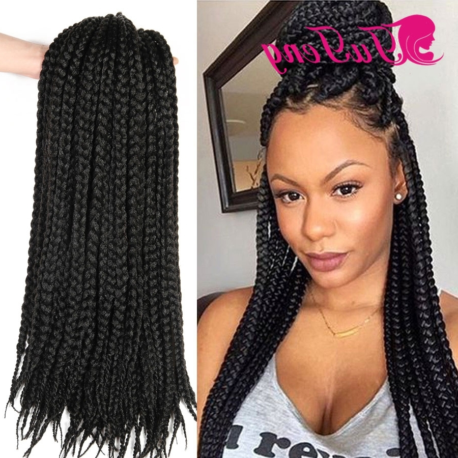 Featured Photo of Braided Hairstyles With Crochet