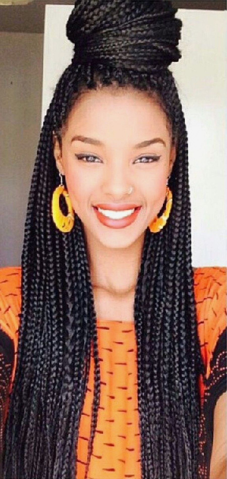 Braid Hairstyles : Awesome Kinky Twist Braids Hairstyles Download For Most Recent Kinky Braid Hairstyles (View 5 of 15)