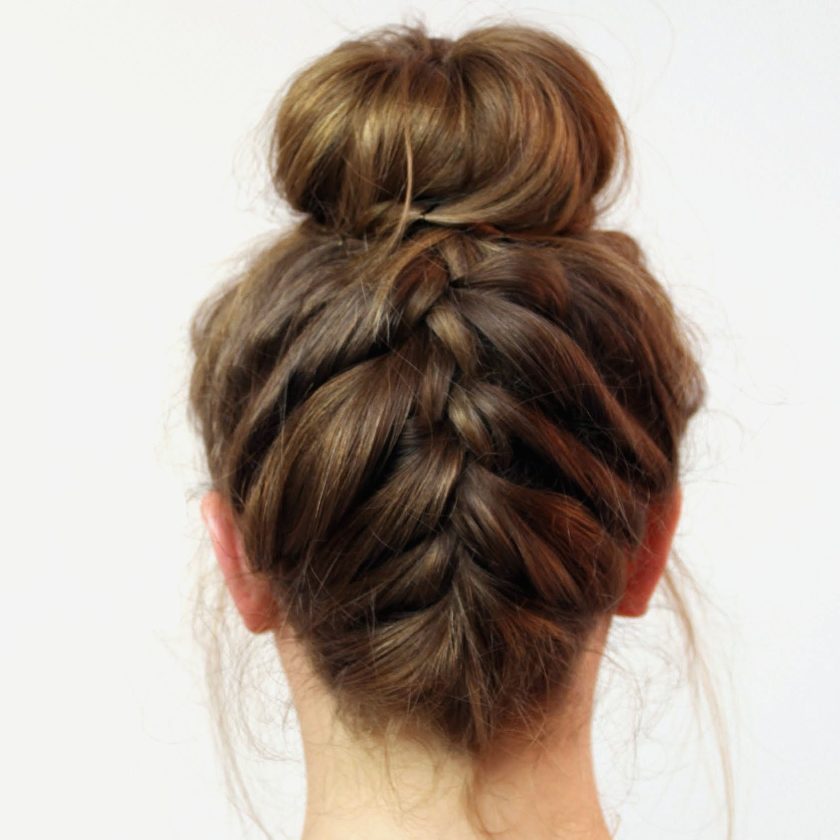 Braid Hairstyles : Best Braided Hairstyles For Swimming For A Round Pertaining To Most Recently Released Braided Hairstyles For Swimming (View 6 of 15)