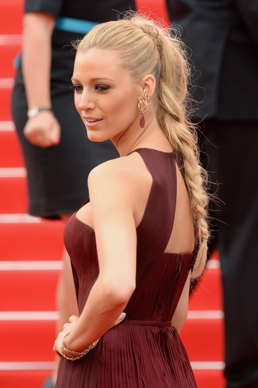 Braid Hairstyles : New Red Carpet Braid Hairstyles New Hairstyle On In Most Current Red Carpet Braided Hairstyles (View 3 of 15)