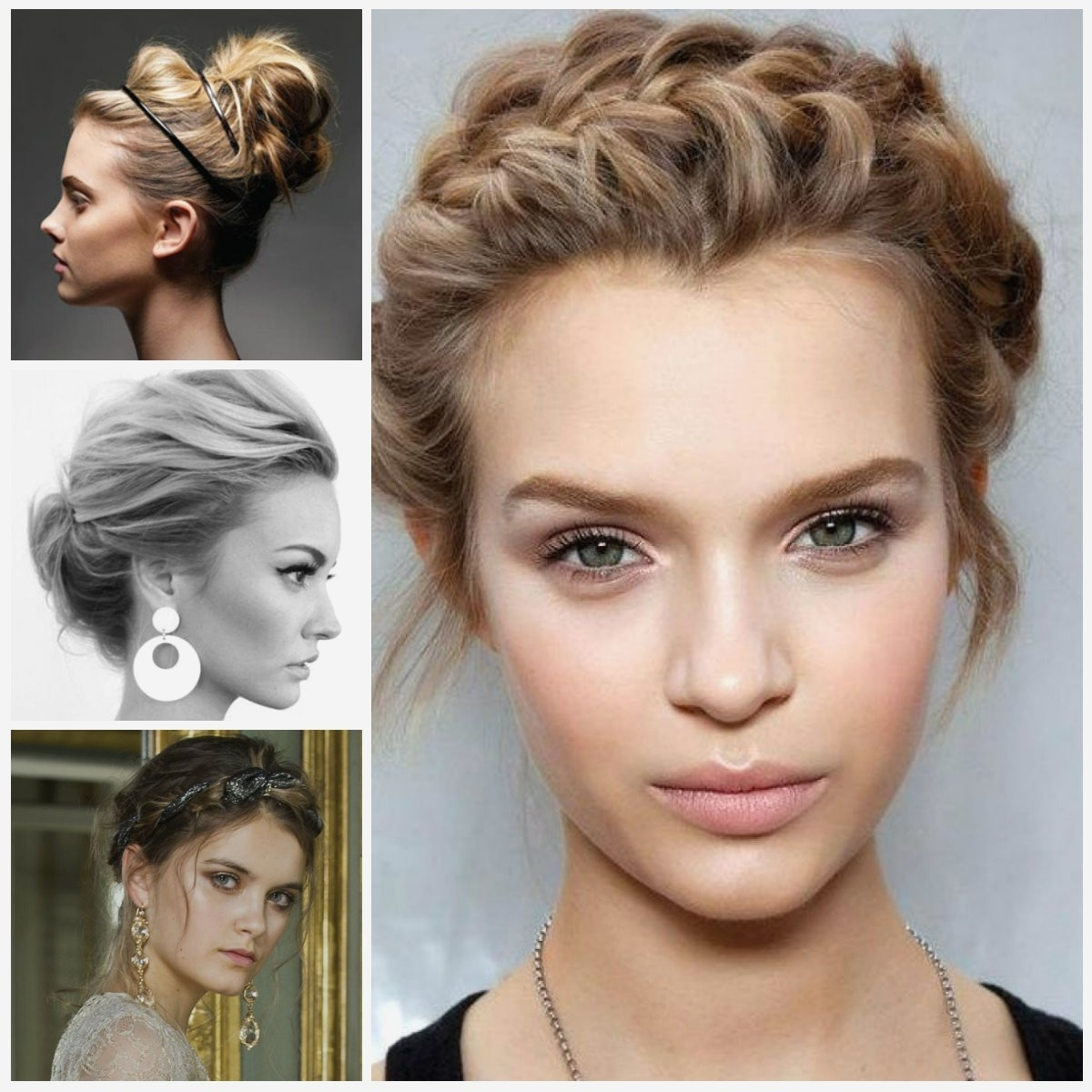 Photo Gallery Of Shoulder Length Hair Braided Hairstyles