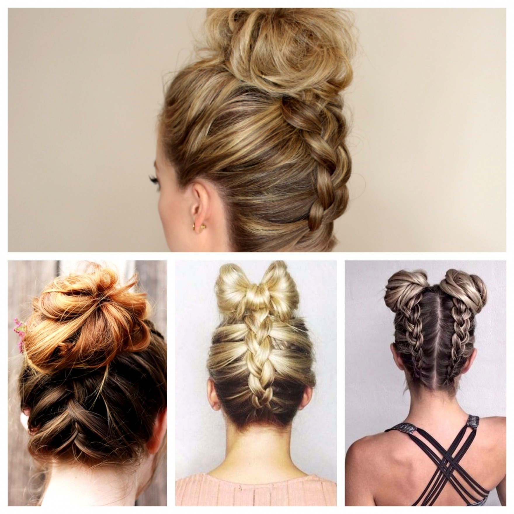 Braided Bun Hairstyles (View 6 of 15)