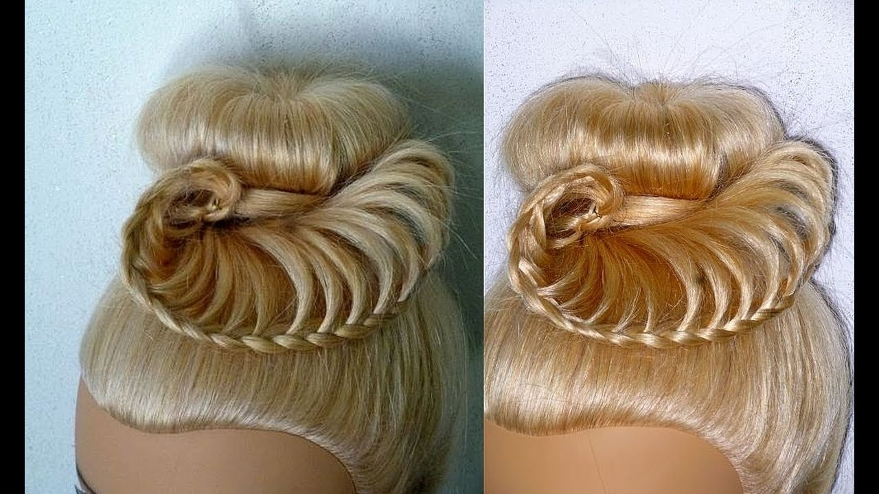 Featured Photo of Braided Hairstyles For Dance