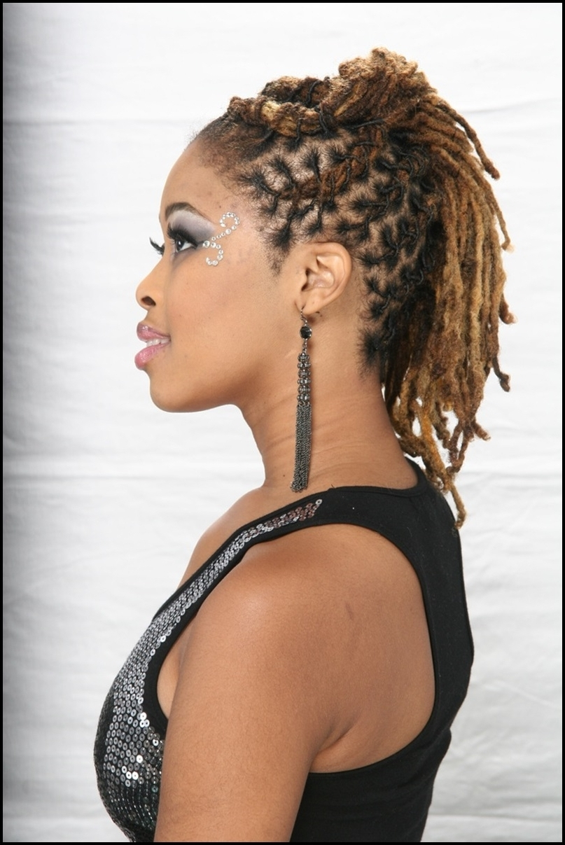 Braided Dreadlocks Hairstyles For Women – Hairstyles Inspiring Within Trendy Braided Dreads Hairstyles For Women (View 4 of 15)
