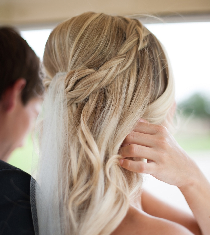 Braided Hairstyles: 5 Ideas For Your Wedding Look – Inside Weddings For Most Current Braided Hairstyles For Bridesmaid (View 4 of 15)