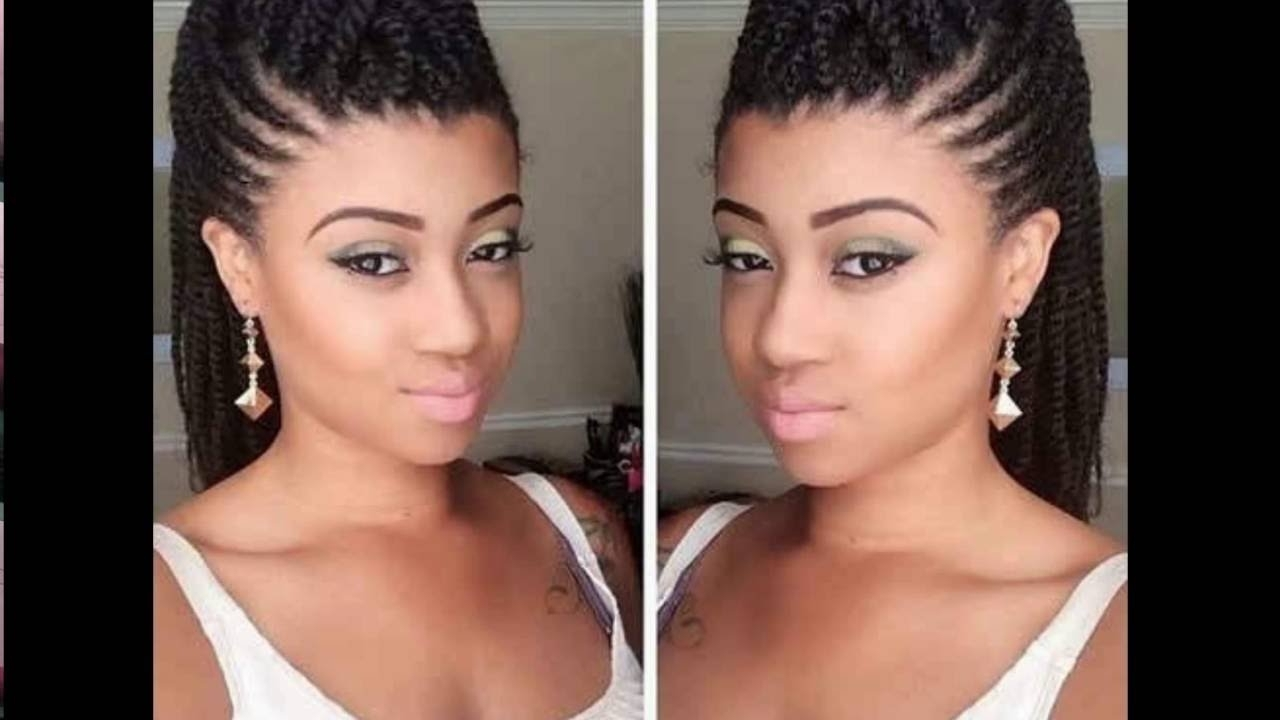 Braided Hairstyles For Black With Most Current Braided Hairstyles For Women (View 6 of 15)