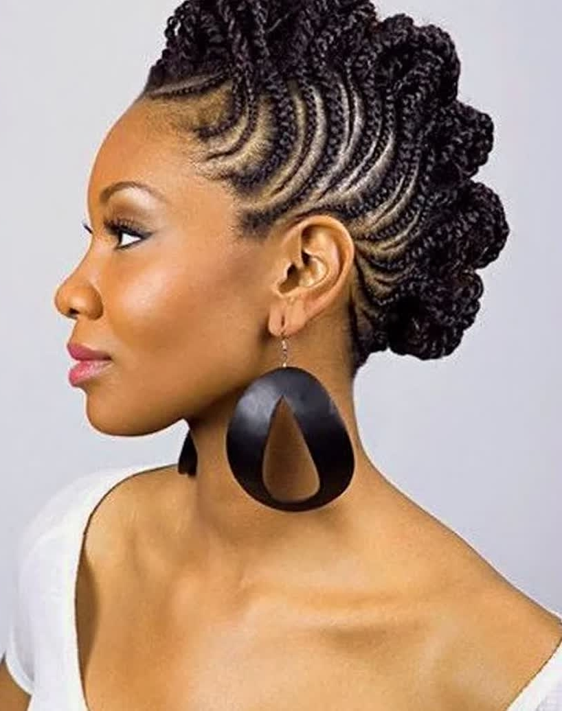 Braided Hairstyles For Older Women (View 3 of 15)