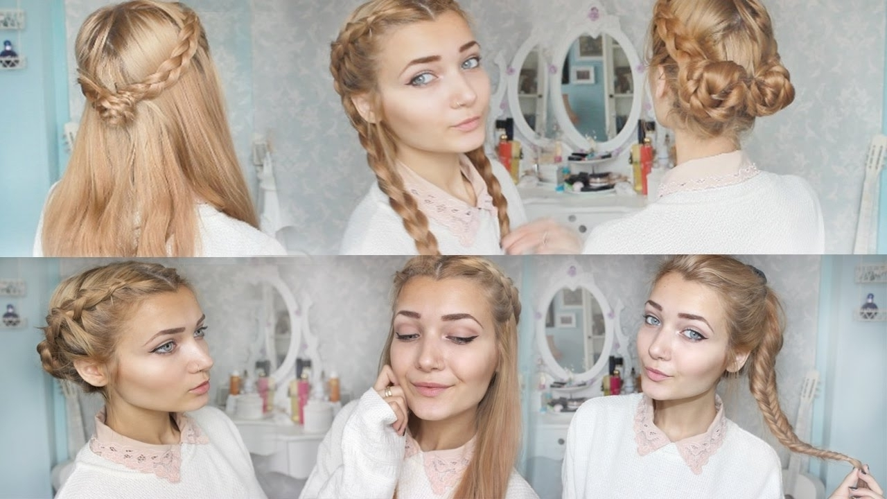 Braided Hairstyles For School (View 15 of 15)