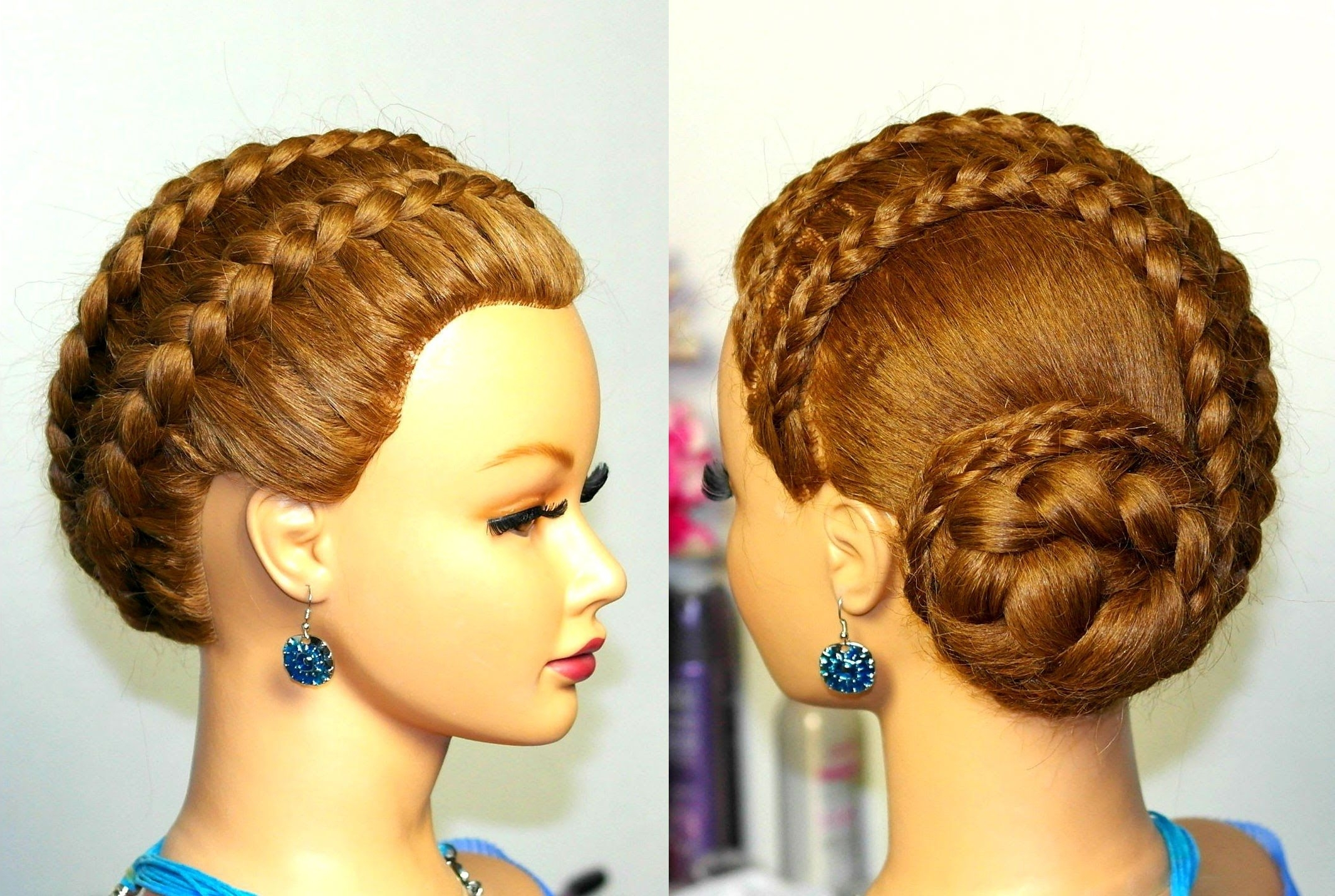 Braided Updo, Hairstyles For Long Hair (View 7 of 15)