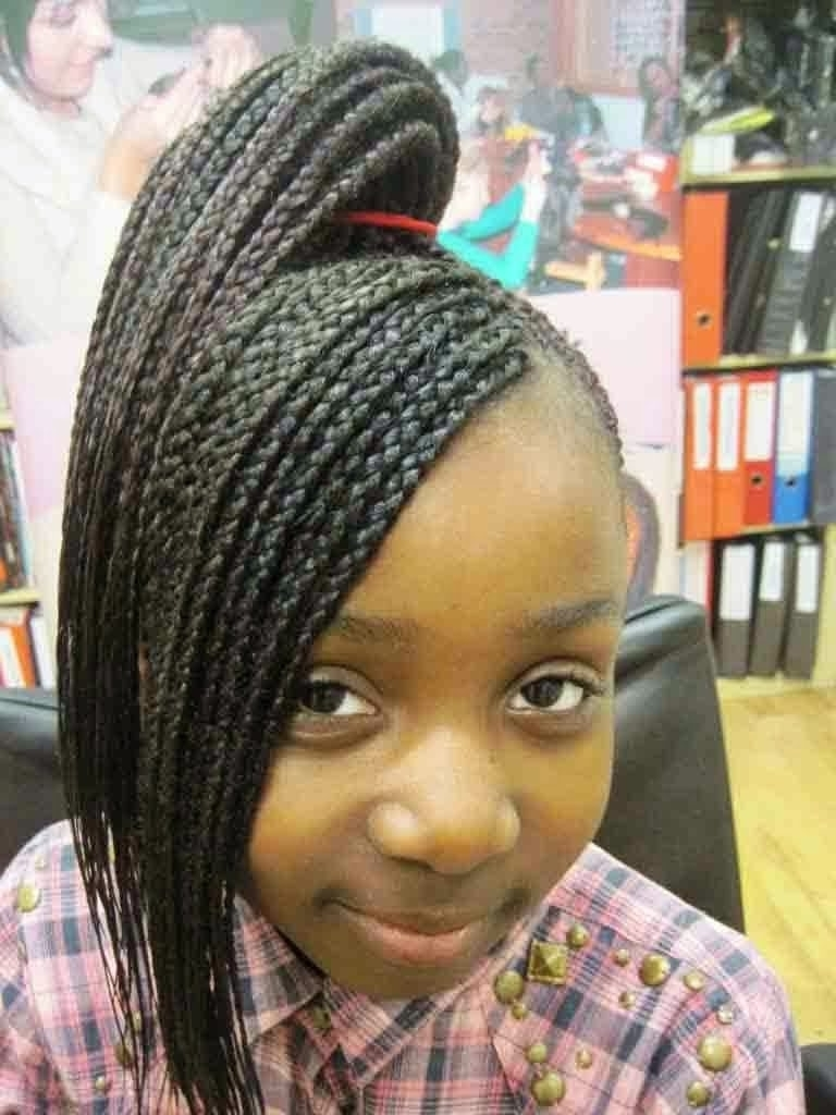 Braiding Hairstyles For Little Girl Hairstyle Pictures African With Regard To 2017 Braided Hairstyles For Little Girls (View 8 of 15)
