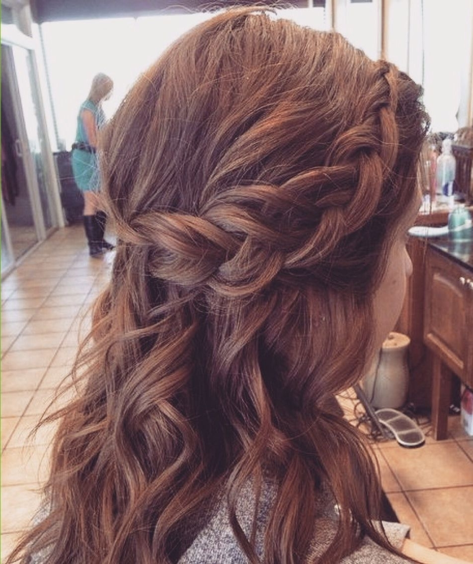 Bridesmaid Throughout Most Recently Released Braided Hairstyles For Layered Hair (View 6 of 15)