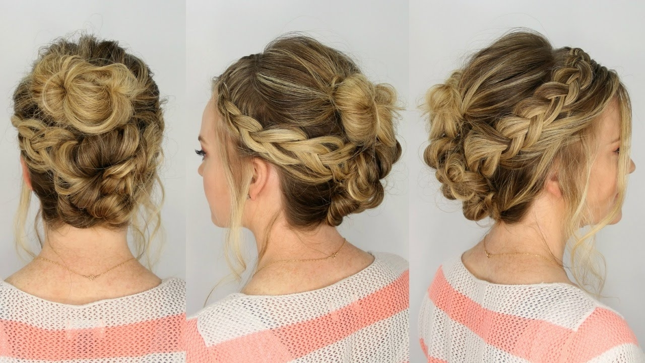 Featured Photo of Casual Braided Hairstyles