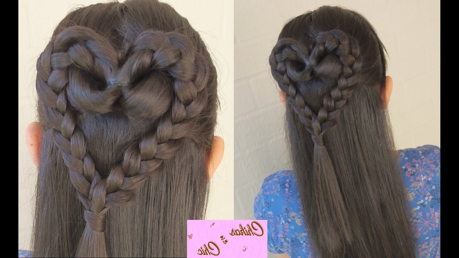 Chikas Chic – Youtube Pertaining To Preferred Heart Braided Hairstyles (View 7 of 15)