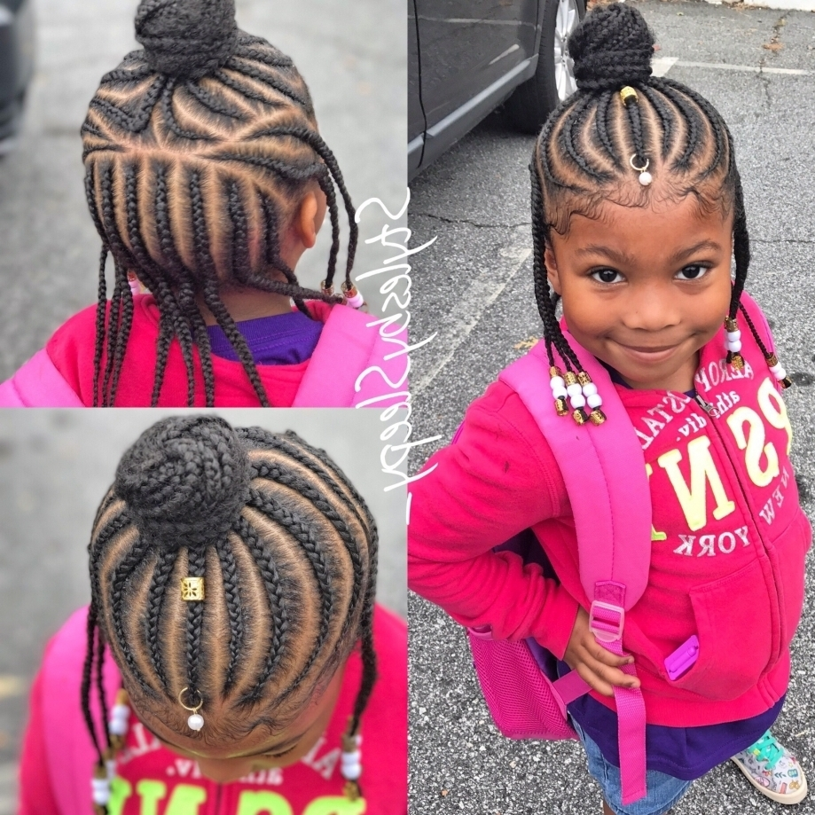 Children S Natural Braided Hairstyles – Famous Hair Style 2018 For Most Current Braided Hairstyles For Kids (View 15 of 15)