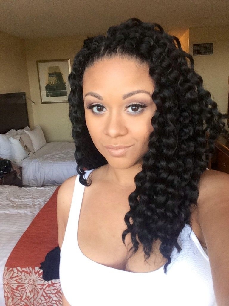 Crochet Braid Intended For Well Liked Braided Hairstyles For Vacation (View 3 of 15)