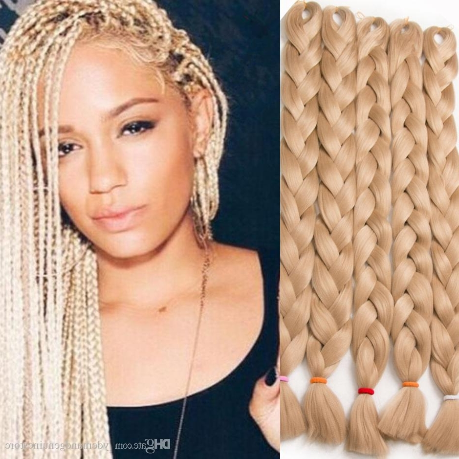Current Braided Hairstyles On Top Of Head In 2018 Braiding Hair Xpression Braids African Ultra Braid 82 Inch 165g (View 7 of 15)