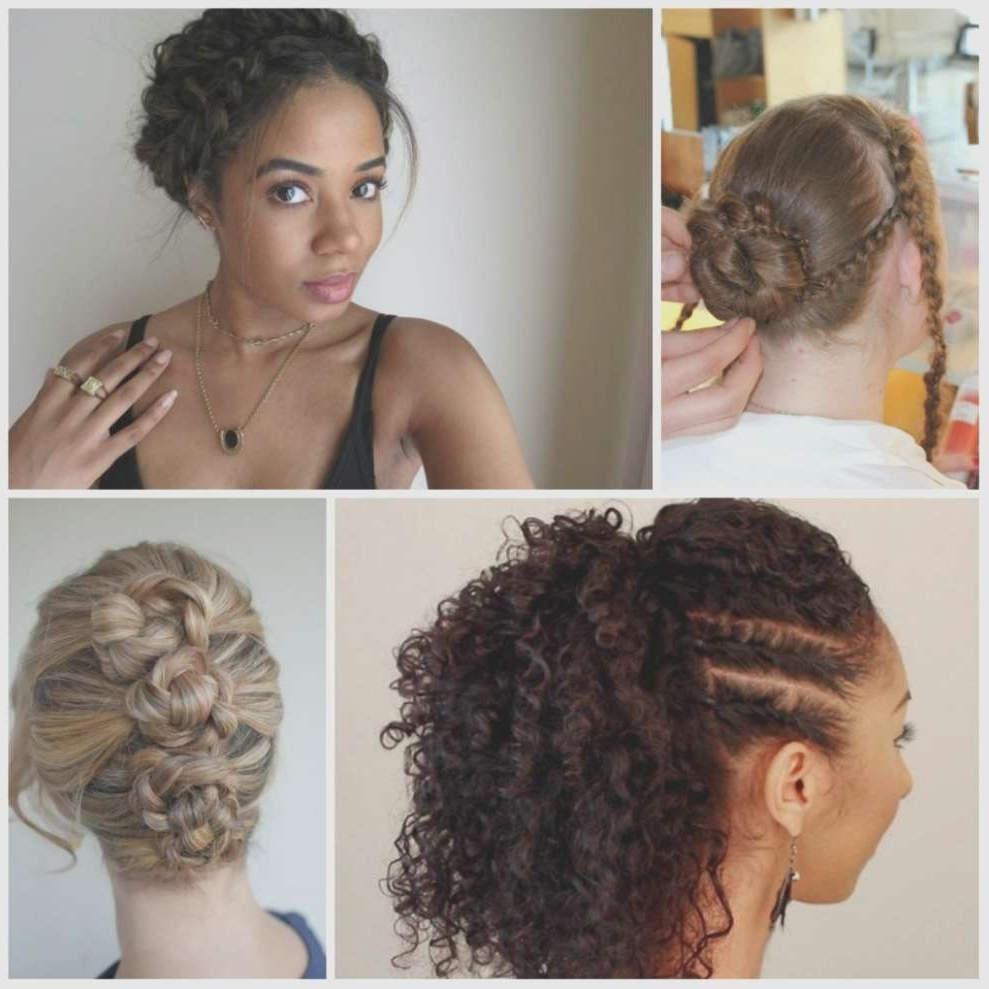 Current Braided Hairstyles With Curly Hair Pertaining To Braid Hairstyles Curly Hair Cute Braided Hairstyles For Curly Hair (View 2 of 15)