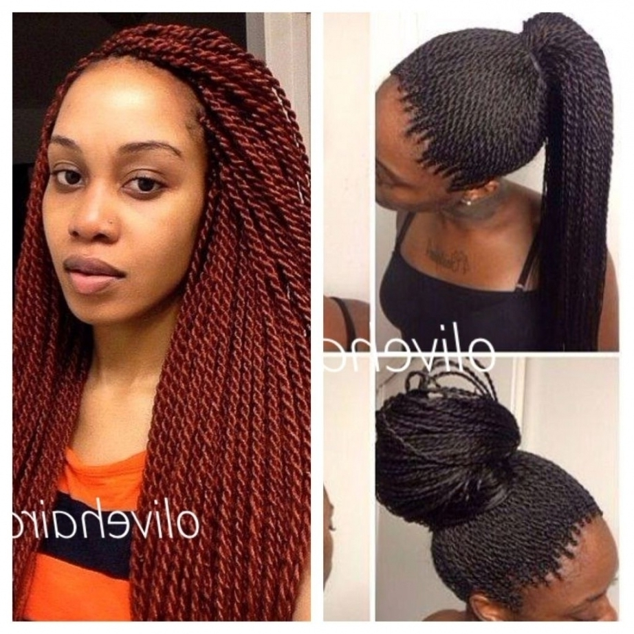 Current Senegalese Braided Hairstyles Throughout √ Senegalese Twist Braid Hairstyles (View 13 of 15)