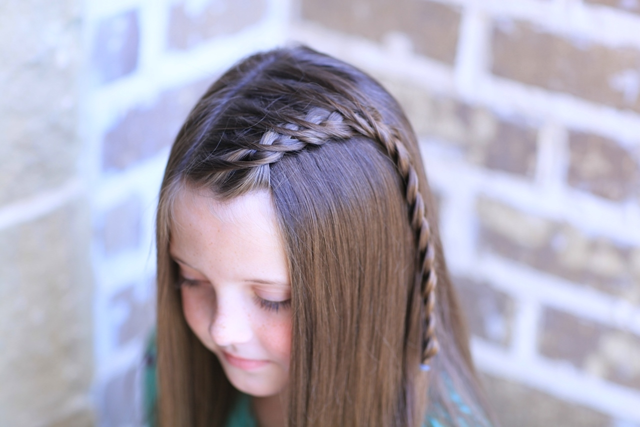 Cute Girls Hairstyles Pertaining To Most Recently Released Dutch Braid Hairstyles (View 4 of 15)