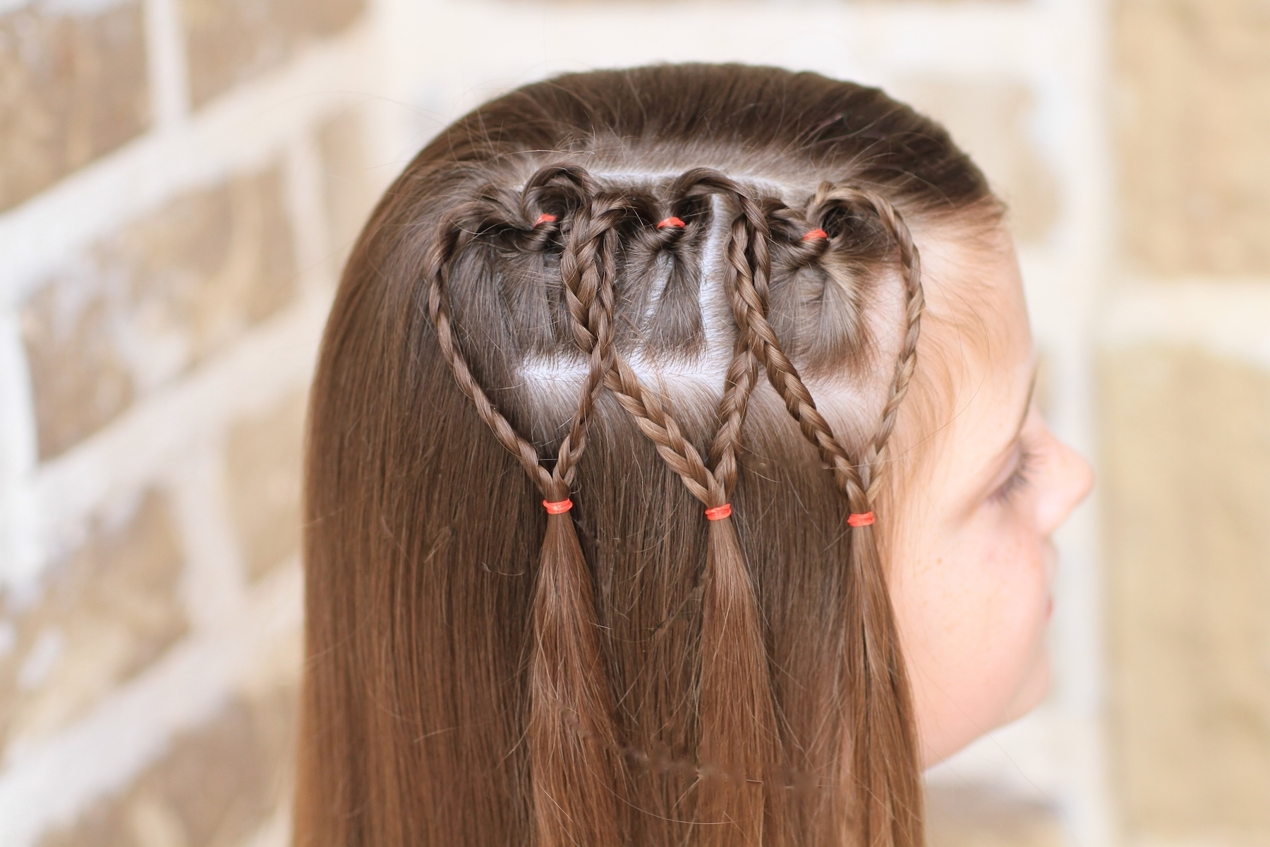 Cute Girls Throughout Most Up To Date Heart Braided Hairstyles (View 4 of 15)