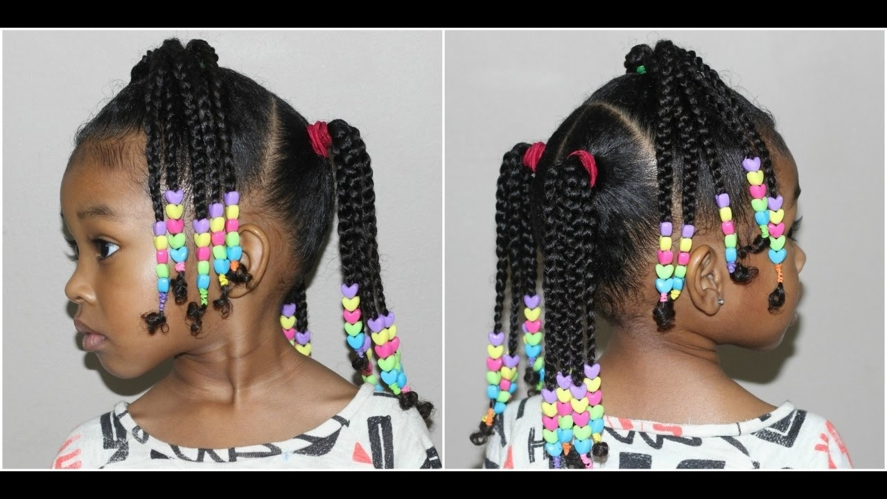Featured Photo of Braided Hairstyles With Beads