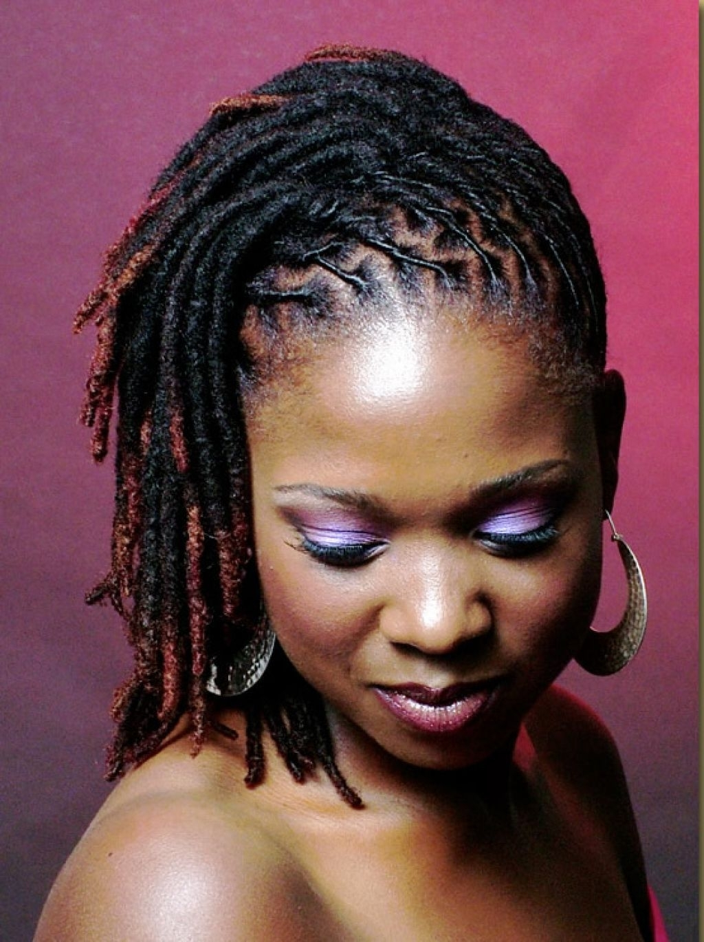 Dreadfully Gorgeous Regarding Most Up To Date Braided Dreads Hairstyles For Women (View 6 of 15)