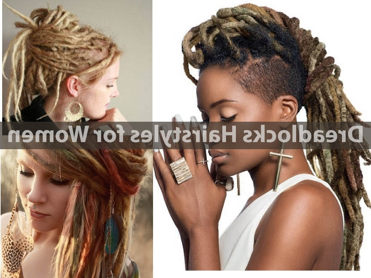 Dreadlocks Hairstyles For Women (View 5 of 15)